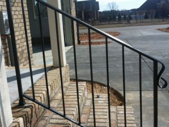 welding handrail